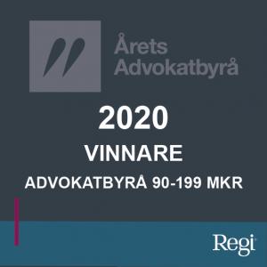 Årets advokatbyrå 2020