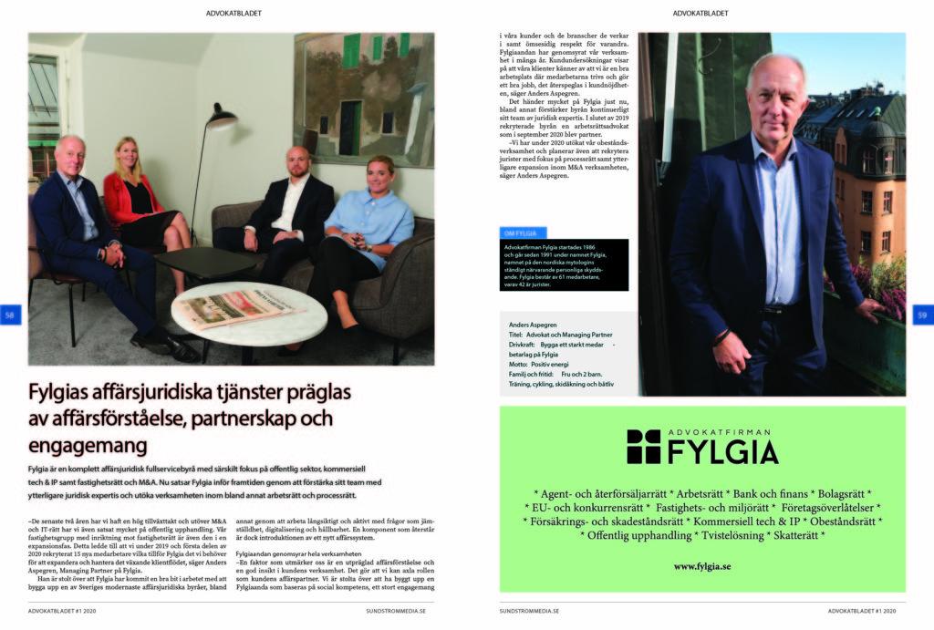 advokatbladet särtryck 2020